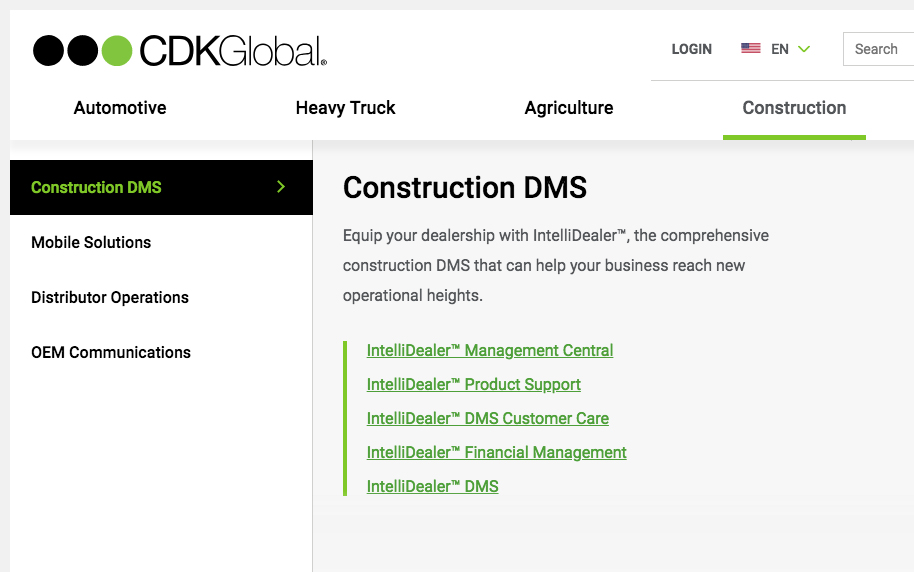 CDK Website Development