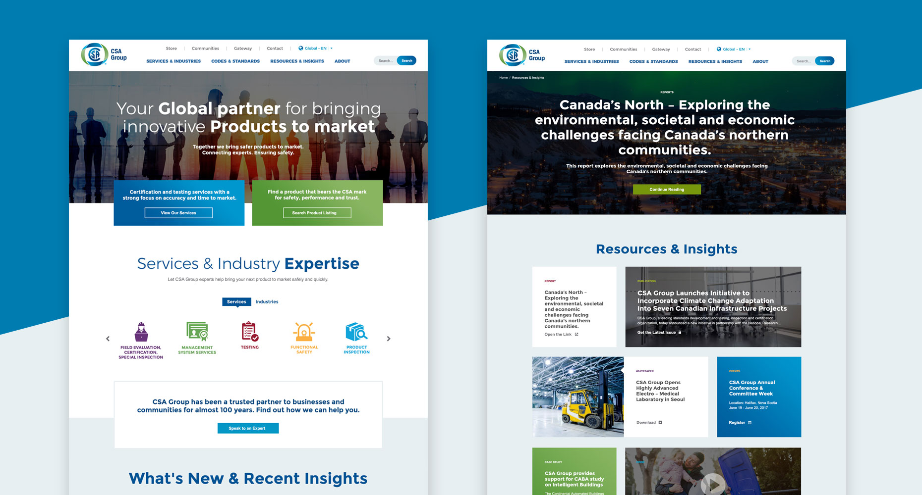 CSA Group Design Website