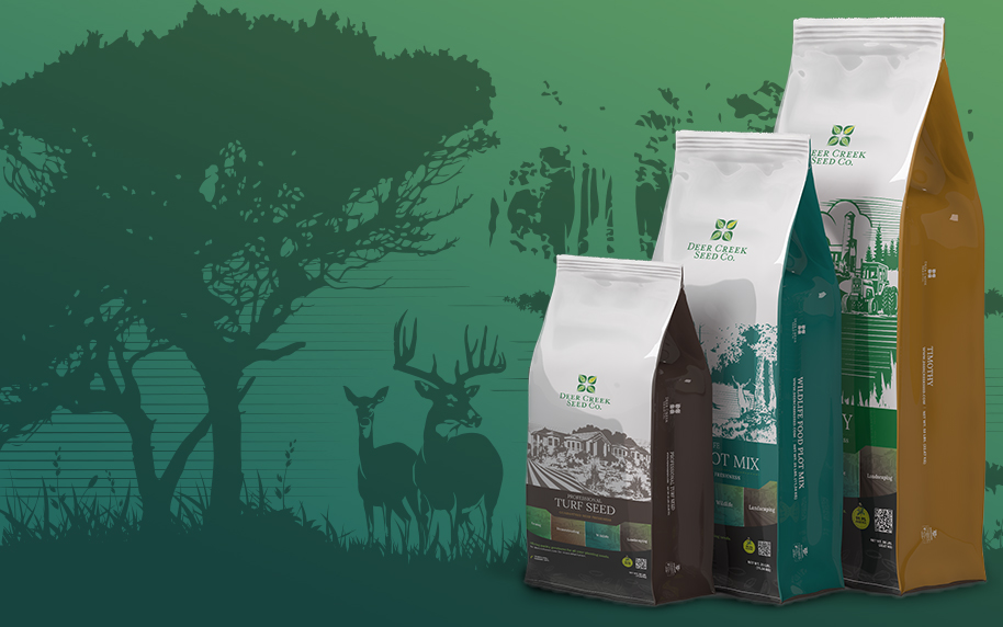 Deer Creek Seed Packaging