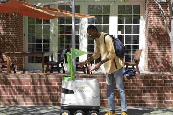 PepsiCo Deploys Snack-Bearing Robots on CA University Campus