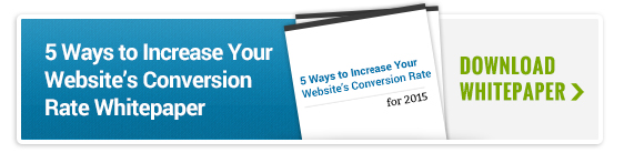 5 Ways to Increase Your Website's Conversion Rate Whitepaper