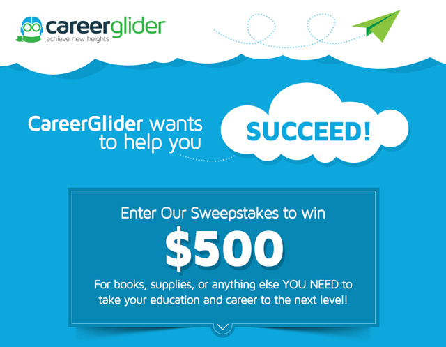 Career Glider Sweepstakes