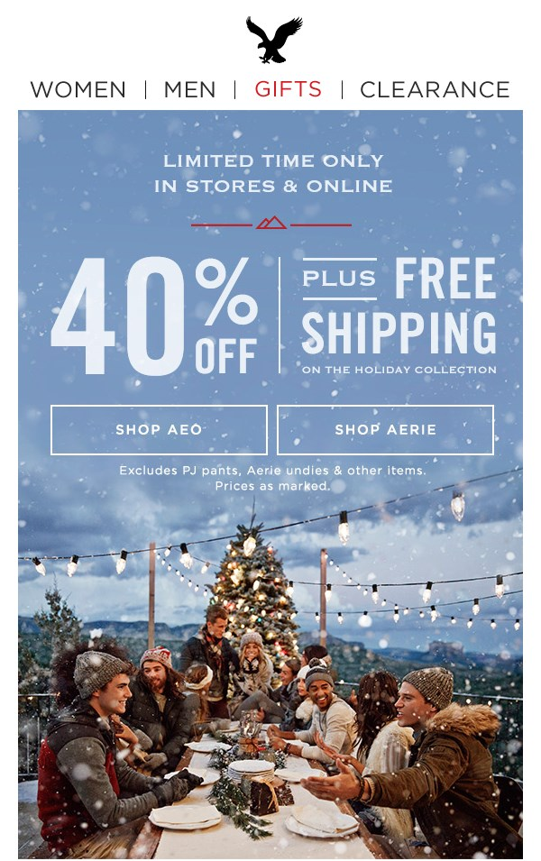 email marketing - american eagle1