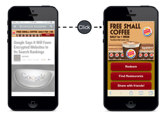 mobile marketing - display ads