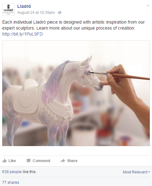 Facebook-example-lladro