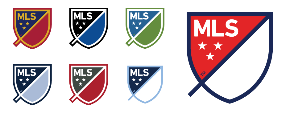 logo redesign - mls teams