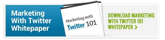 Marketing With Twitter Whitepaper