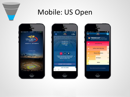 Mobile US Open