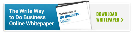 The Write Way to Do Business Online Whitepaper