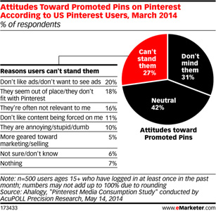 User Attitudes Toward Pinterest Promoted Pins