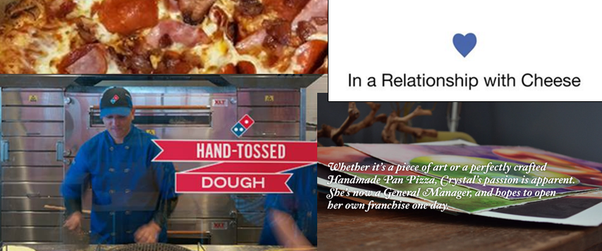 dominos real imagery