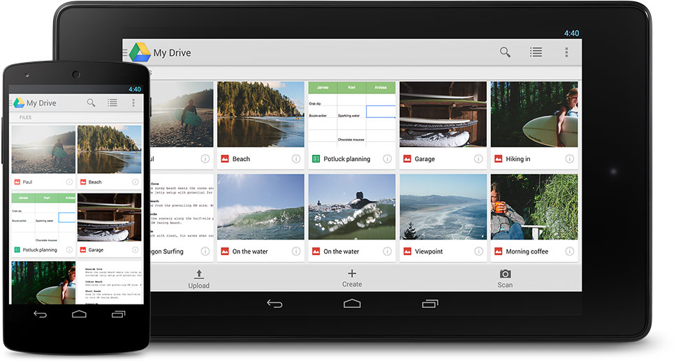 best b2b mobile apps - google drive