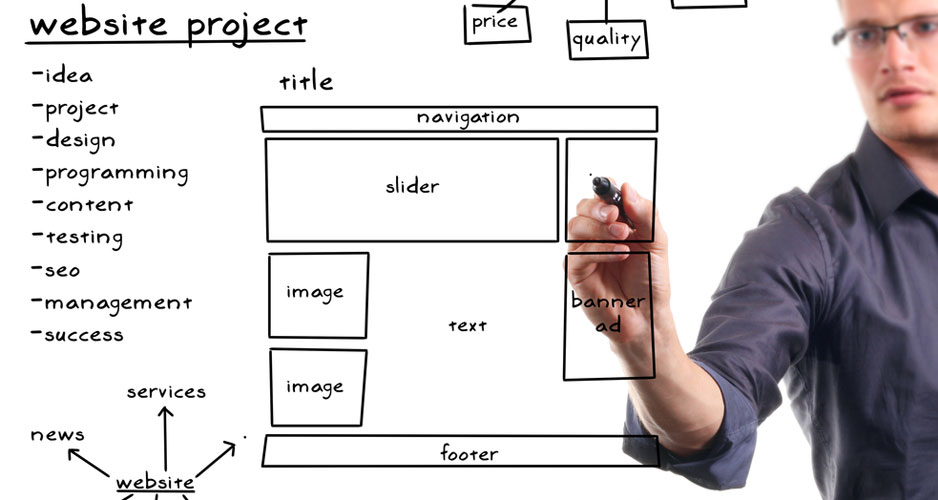 website design specifications document