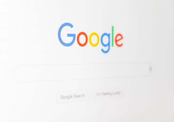 Google screen to showcase search marketing
