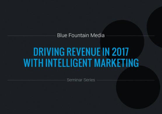 How to Drive Revenue in 2017 With Intelligent Marketing