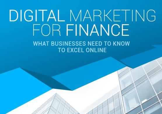 Financial Infographic: Digital Marketing Data and Statistics