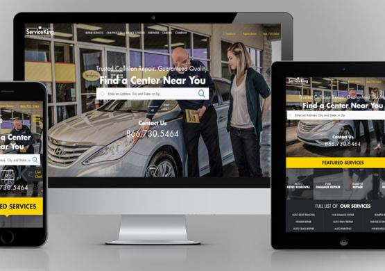 Creative Website Design Earns Service King A Gold Hermes Award