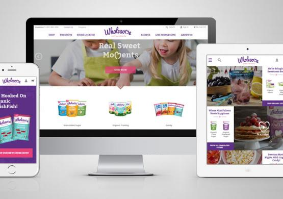Wholesome Sweeteners Collaborates With Blue Fountain Media To Redesign Website