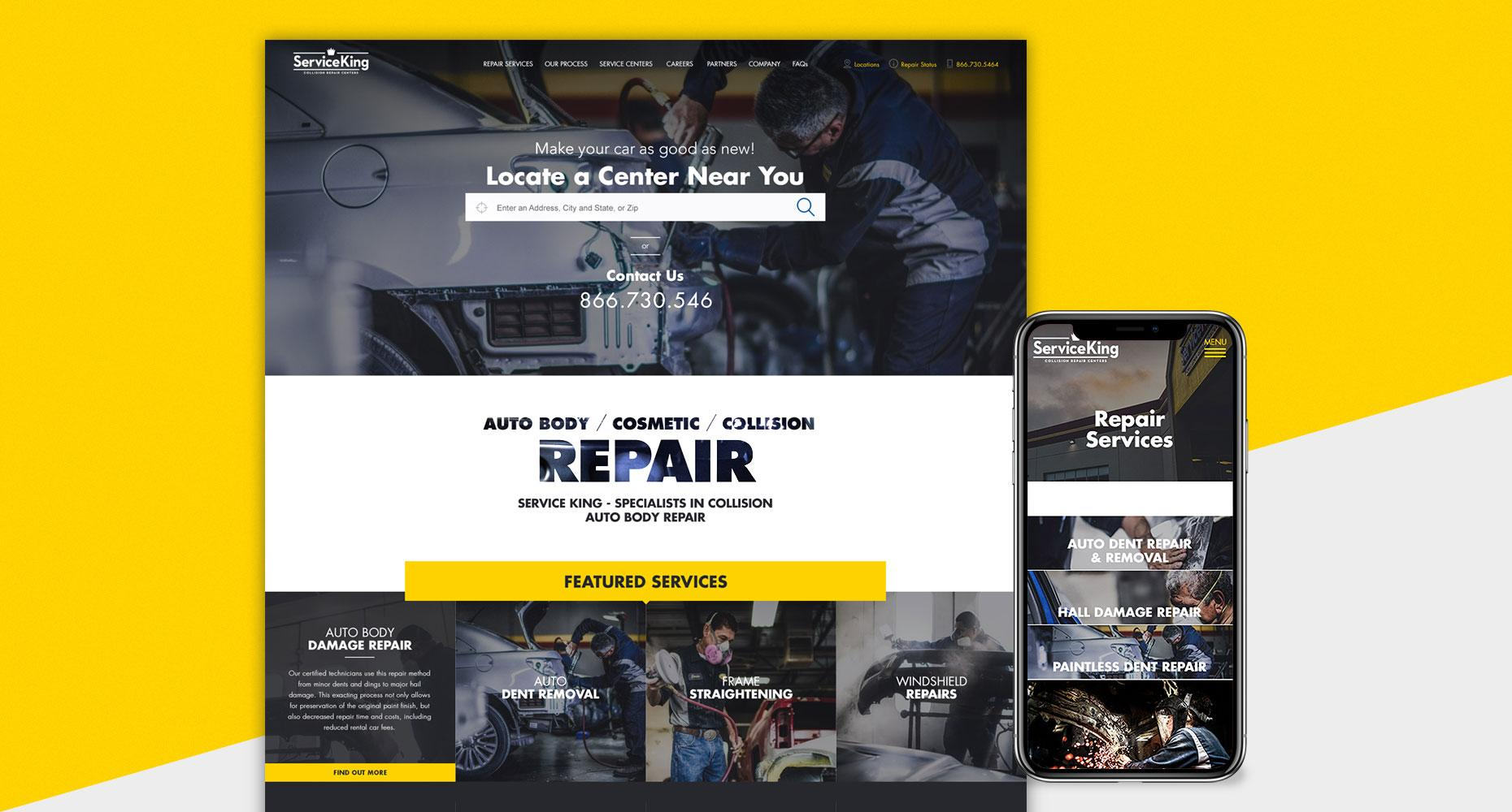 Service King Website